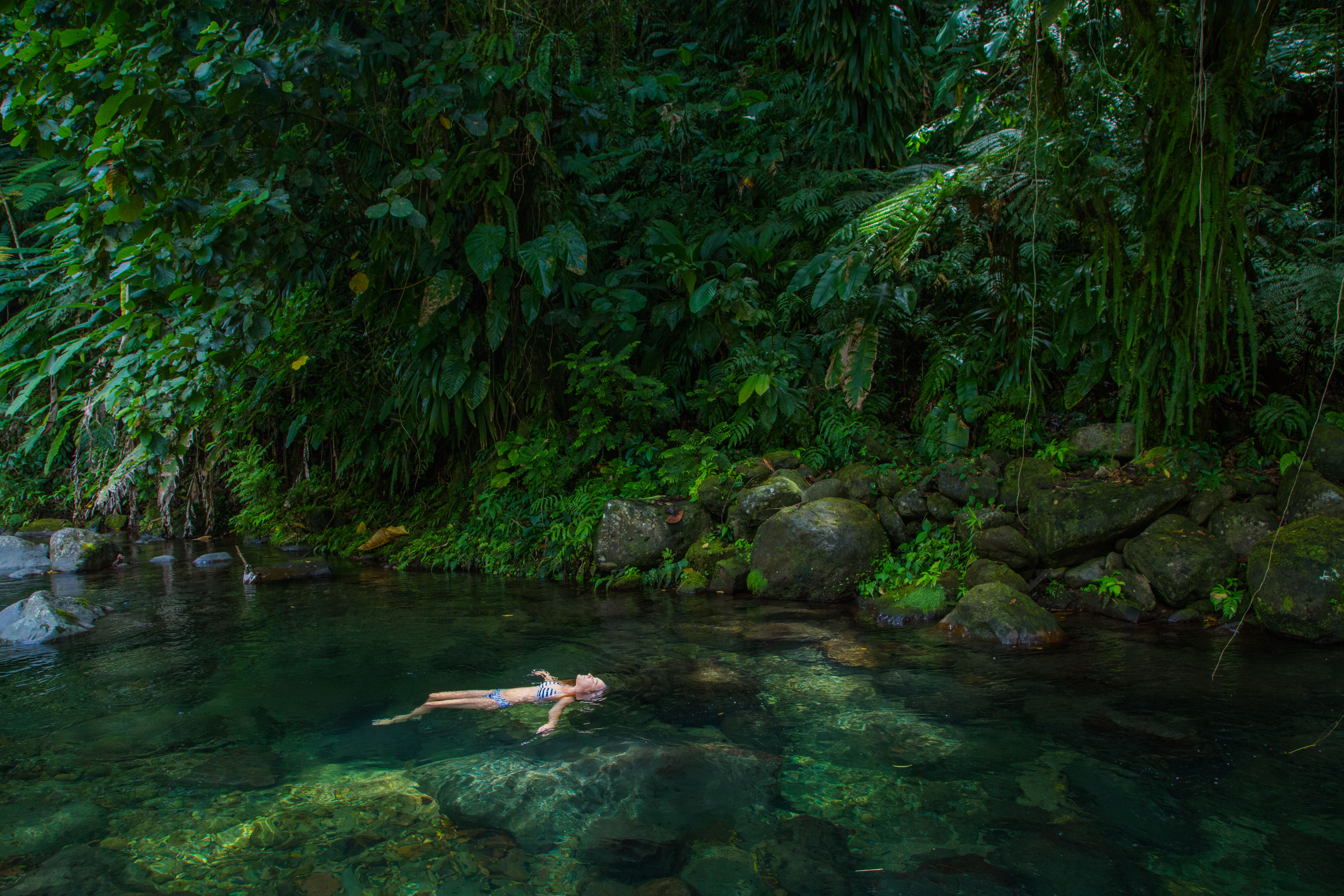 Dominica Pool, Dominica Waterfall, The Nature island, Natural pools Dominica