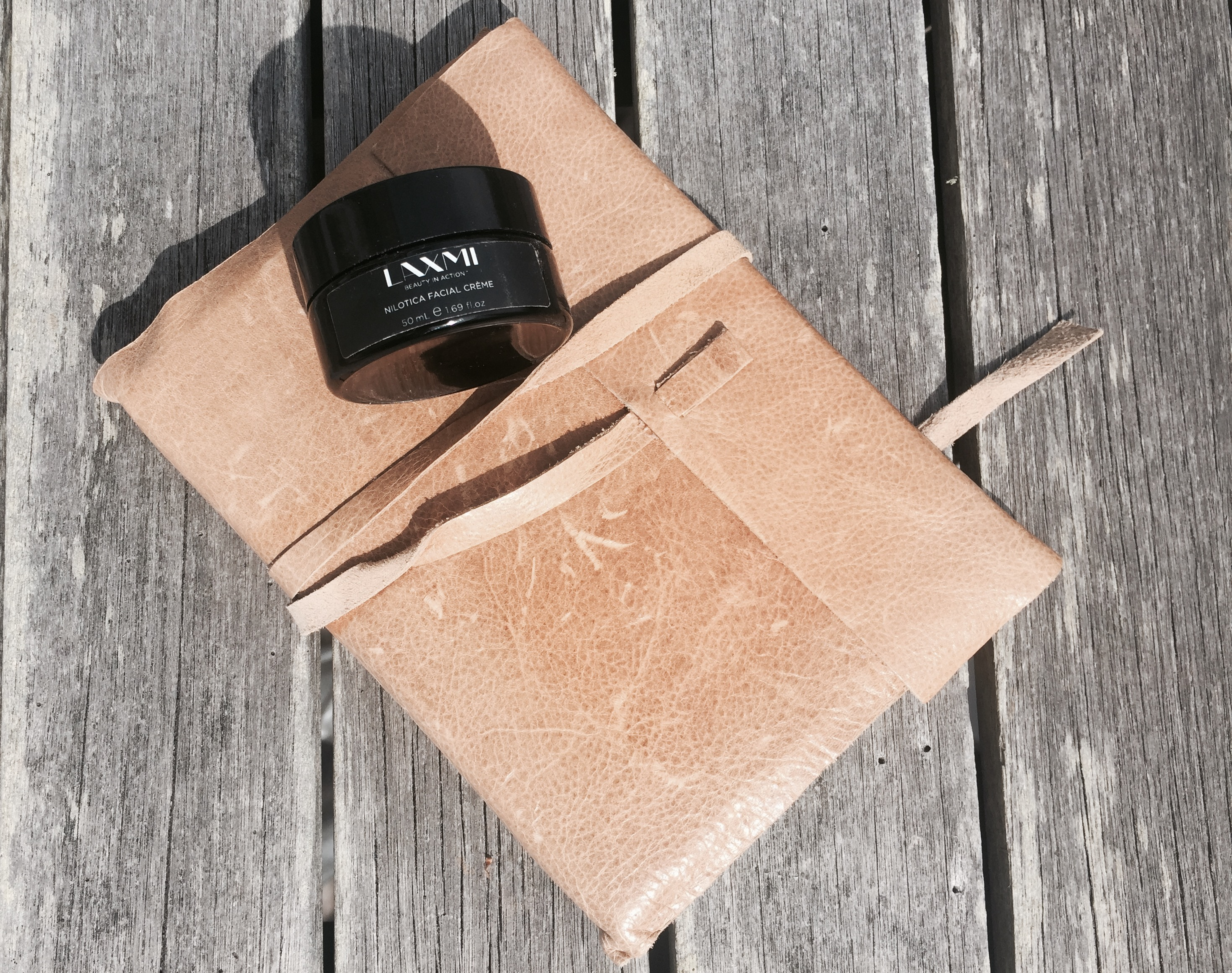 Laxmi, lightweight travel moisturizer