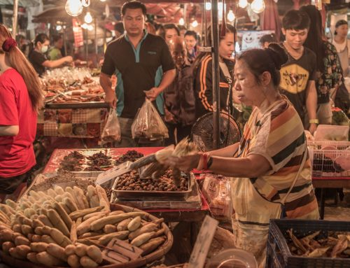 Why you should never go to a Thai Night Market alone