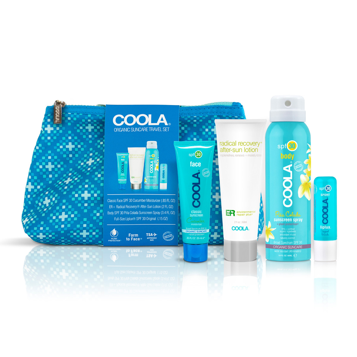 Coola Organic Travel Kit