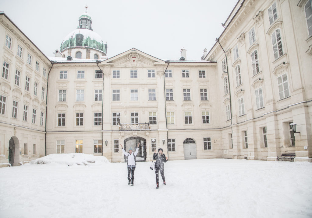 Imperial Palace, Innsbruck, old town