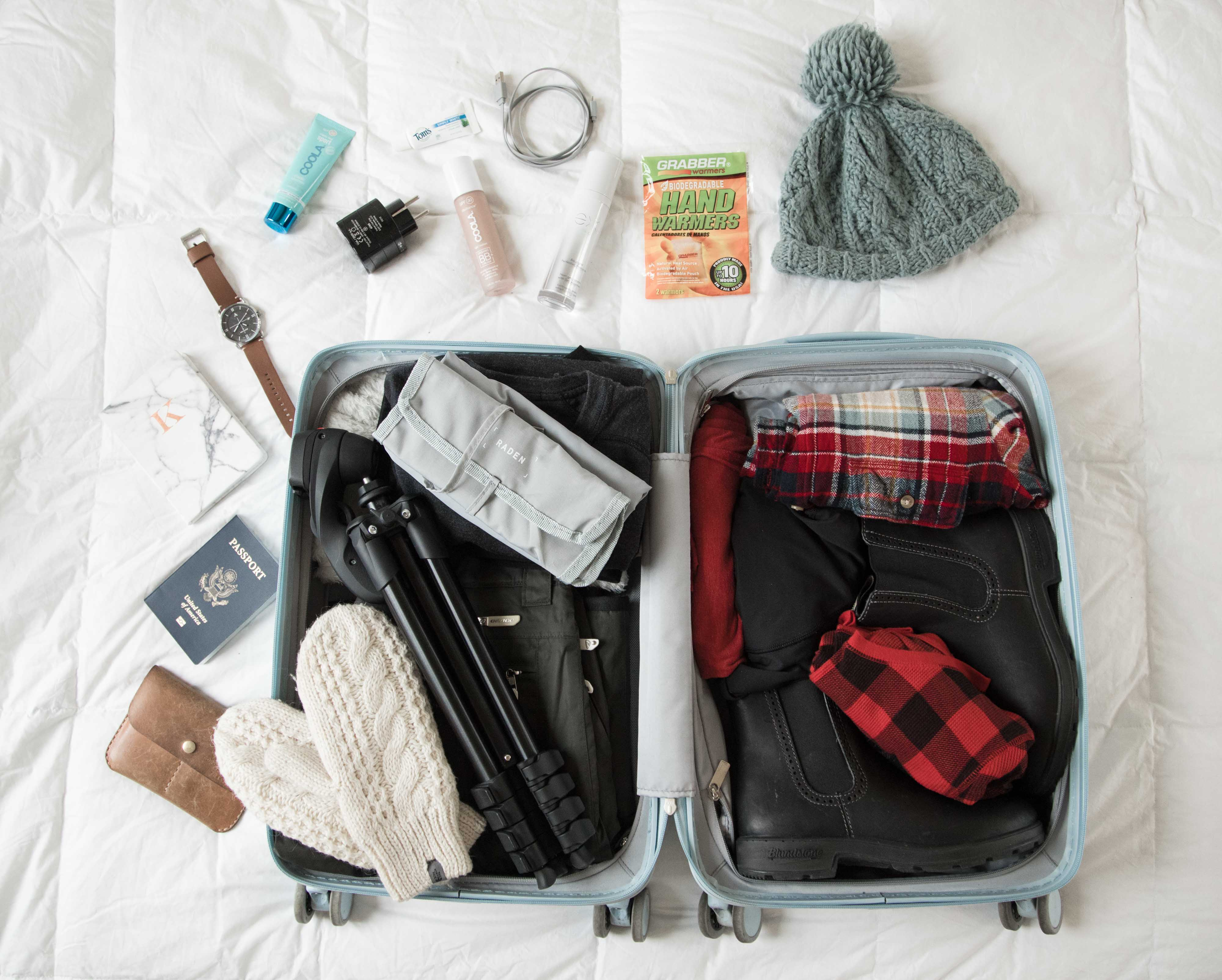 how to pack tooth paste in carry on luggage