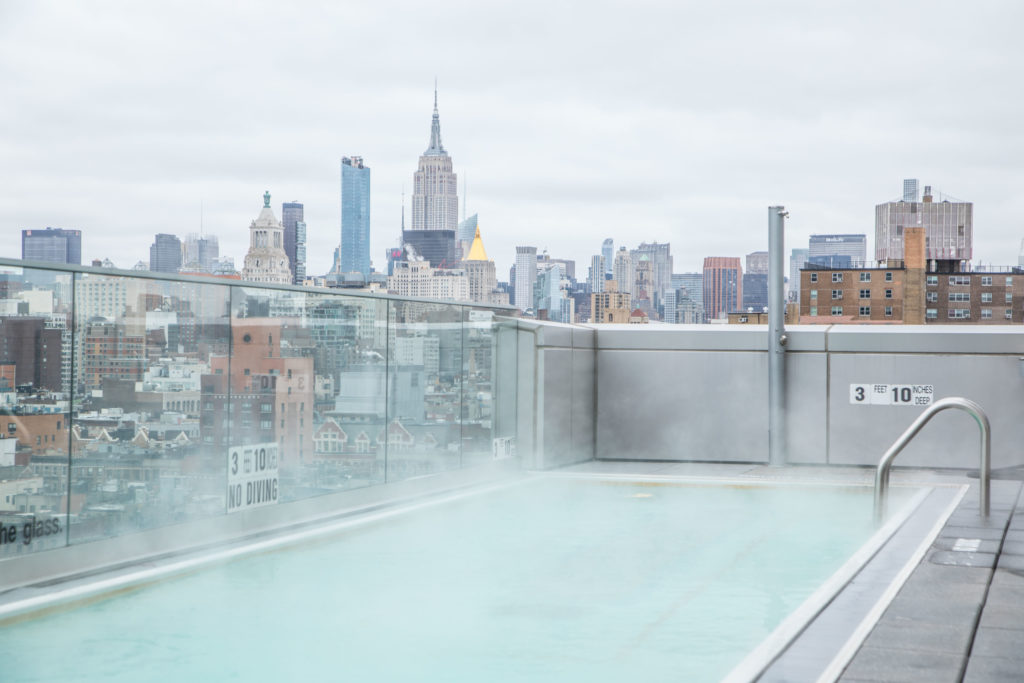 Luxury Hotel Pools, Hotel Indigo, NYC Boutique Hotels