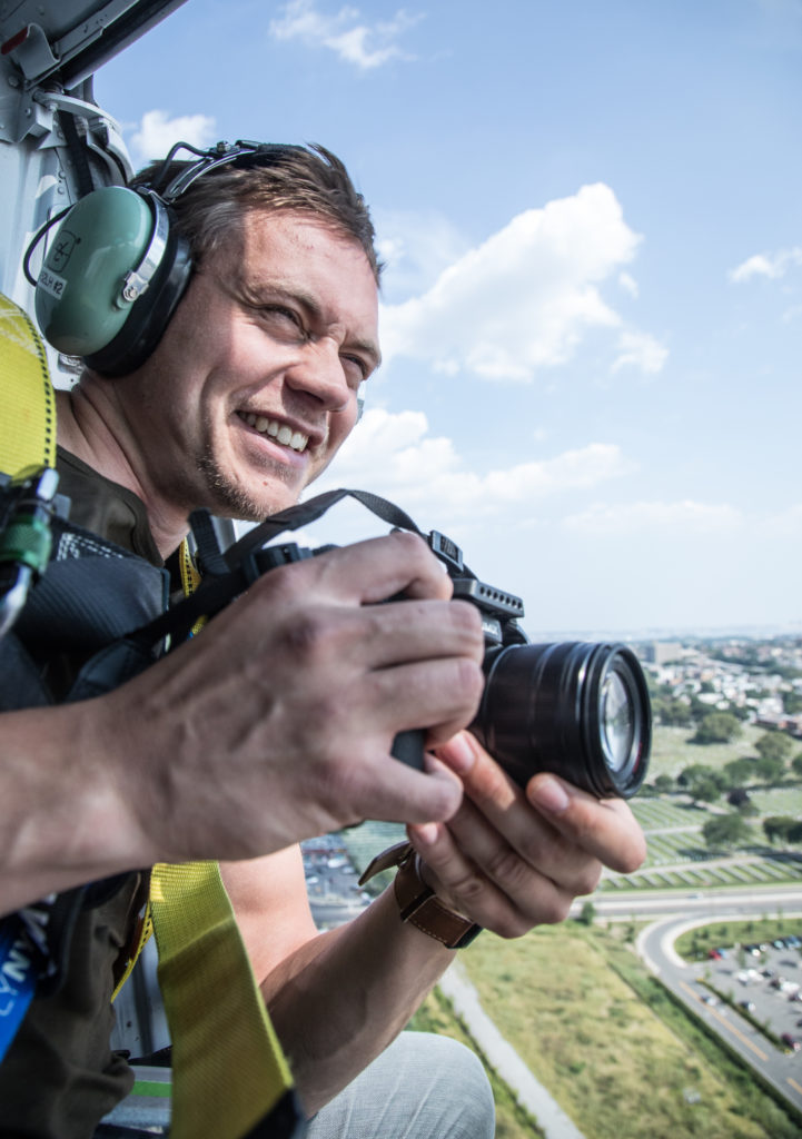 Fredrik Bye, FlyNYON NYC, best helicopter experience NYC, Helicopter no doors NYC