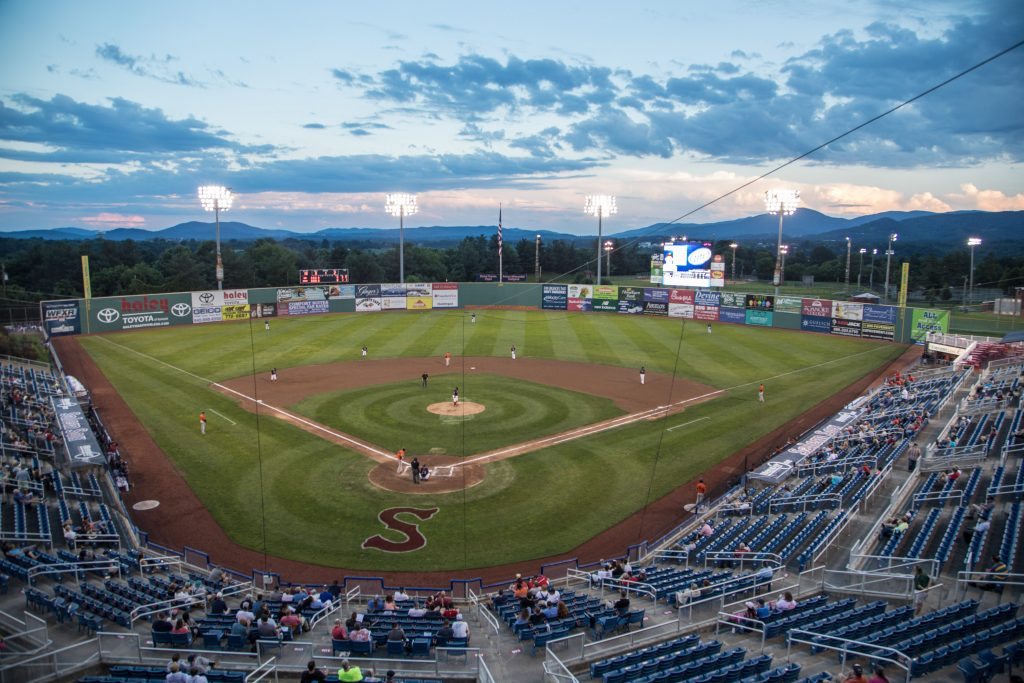 BLUE RIDGE MOUNTAIN GETAWAY at Salem Red Socks in Roanoke