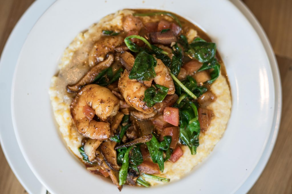 stone soup, shrimp and grits, restaurant