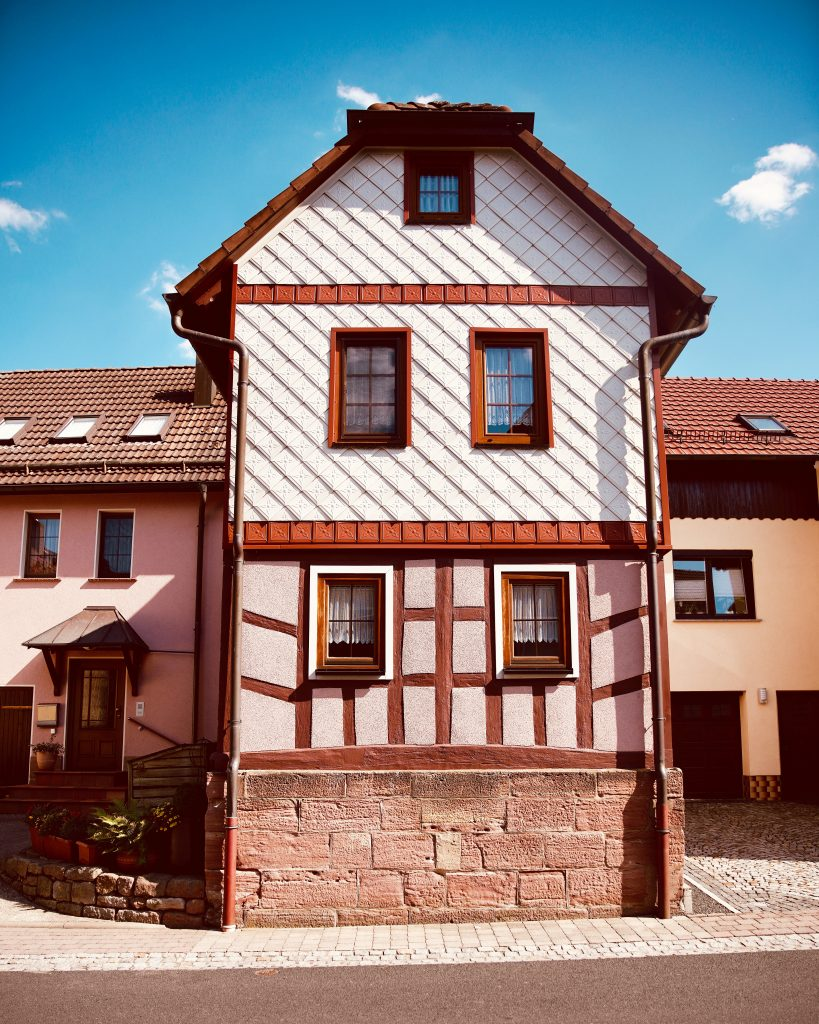 German House pink